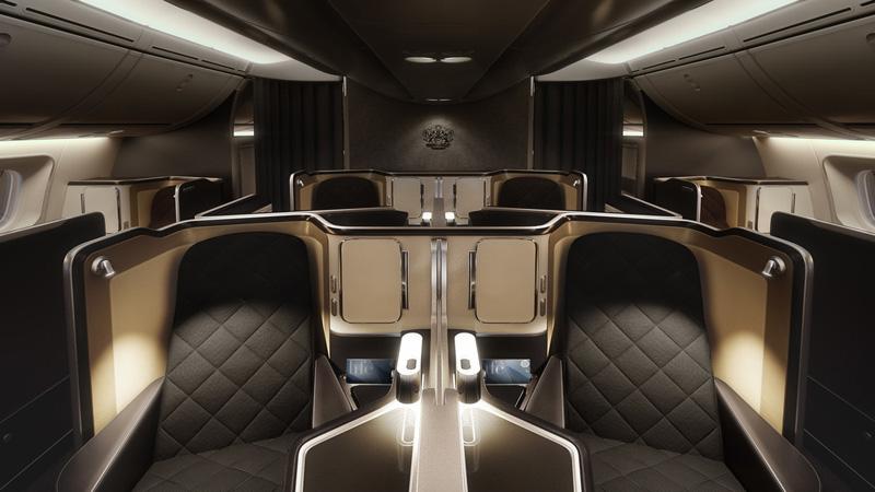 Attractive The First Class Seats In British Airwaysu0027 New Dreamliner